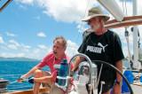 Sail back to Crown Bay Marina, St.Thomas