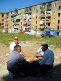 old men playing dominos