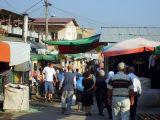 market near the train station, tirana