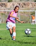 Soccer: Los Alamos vs Eldorado Girls C teams -- Oct 9 2010