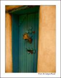 Door On Canyon Road