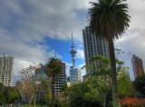Downtown from Albert Park