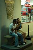 Couple at Carl's