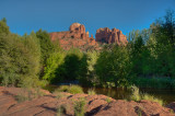 Cathedral Rock and Oak Creek HDR