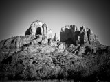 Cathedral Rock Black and White
