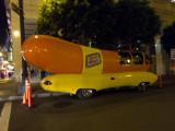 The Wienermobile Near Union Square