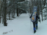 Backcountry Snowboard on Mt. Moriah 12/20/08