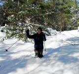 Bradbury  Mt. Ski Challenge 12/23/08