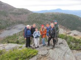 Loop hike over Little Jackson and Tumbledown Mountains 10-17
