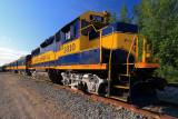 Alaska Railway Train