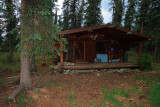 Our tiny cabin
