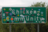 Entering Chicken