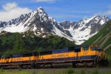 Train near Seward