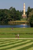 Minaret in distance