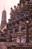 Japanese tourists at Wat Arun.