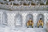 Security guards at Wat Arun.