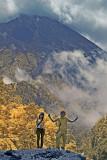 Massive Mt. Merapi on  Java, Indonesia