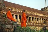 The fake monks of Angkor.