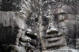 The Bayon faces, unforgettable.