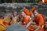 Young monks near the Baphuon.