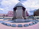 Jimi Hendrix' grave.