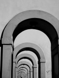 Florence -  Italy - Memory Cards in B&W