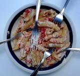 If you're really hungry - Maccheroni &Ricotta (Italian pronunciation: [riˈkɔtːa]) and 5 forks