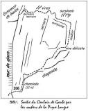 56 Vignemale sortie du couloir de Gaube rive gauche