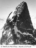 041 Petit pic d'Ossau versant Fourche