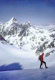 054 Pics d'Arriel vus du glacier de la Frondella