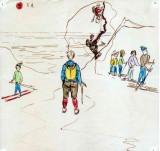 L'ascension du Rognon de Ger le 20 Février 1965 vue par Anfoy