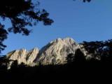 Pic Baqué (2093 m) depuis l'étang d'Ourbiet
