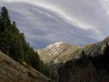 Pic de Sarret (2223 m) sous le vent du Sud