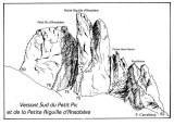 032-Petit Pic et Petite Aiguille d'Ansabère-It; 74/. 75/. 77/. 78/. 79a/. 79b/.79c/.