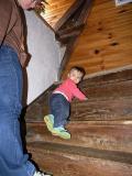 Petite, ouais, mais en haut de l'escalier ! (Avril 2006)