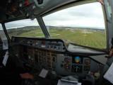 Landing Aberdeen, Scotland