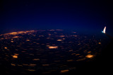 Flying over France