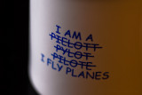 I fly planes!