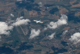 Turkish A321 over Germany