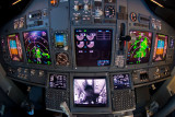 Cabin observation in the cockpit
