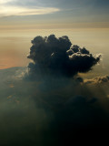 A single big cloud over Rotterdam