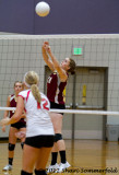 Hailey volleyball 09/27/12