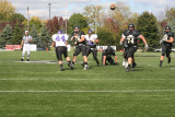 griffin pass into the end zone