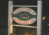 roastfish and cornbread