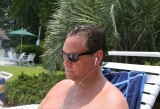 doug at the pool