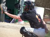 #13 kenny m. behind the plate