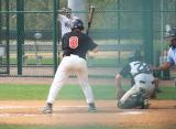 justin s. at the plate