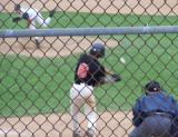 chris at the plate