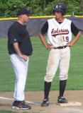 kenny on third with coach collins