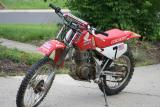 the dirtbike